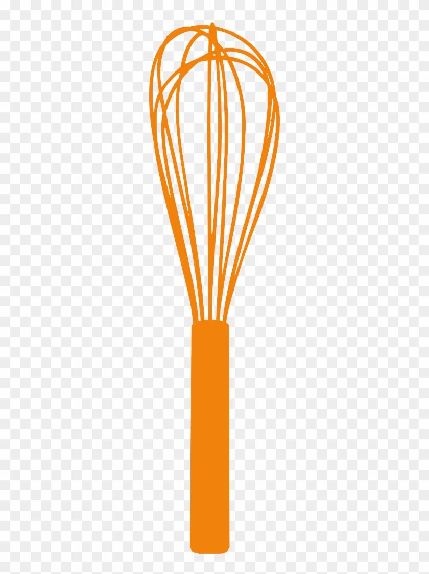 Whisk Clipart Blue Whisk Clipart Orange - Cuisinox Flat Whisk 20cm #31132