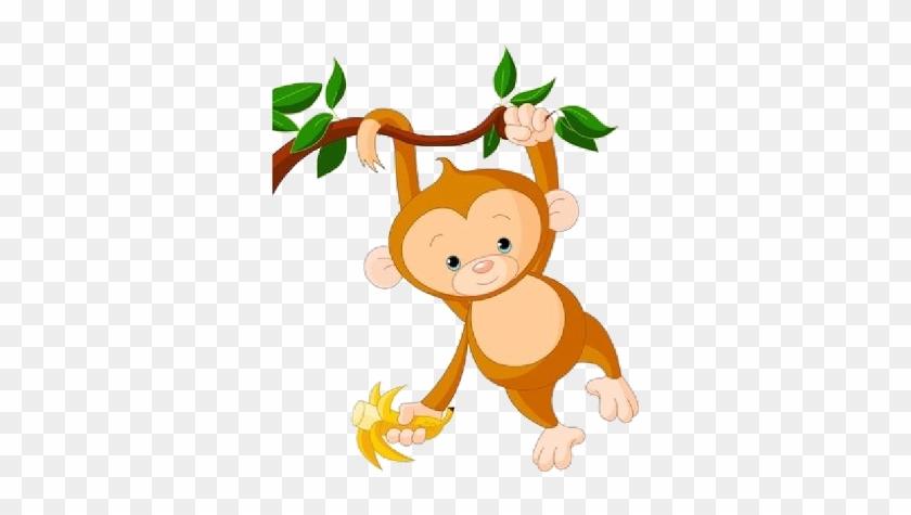Baby Monkey Clip Art Free - Baby Monkey Clip Art #31143