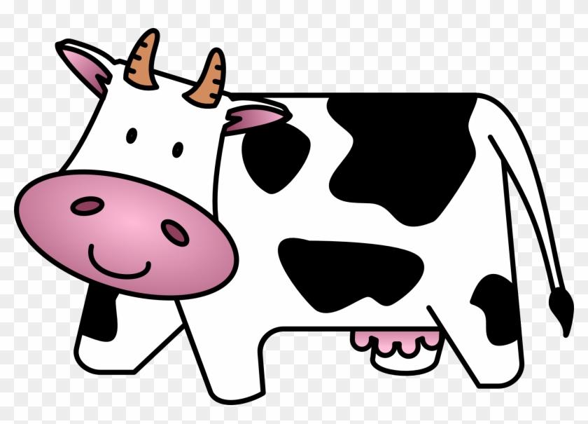 Cow Clip Art Free Cartoon Clipart Images - Cow Clipart #31199
