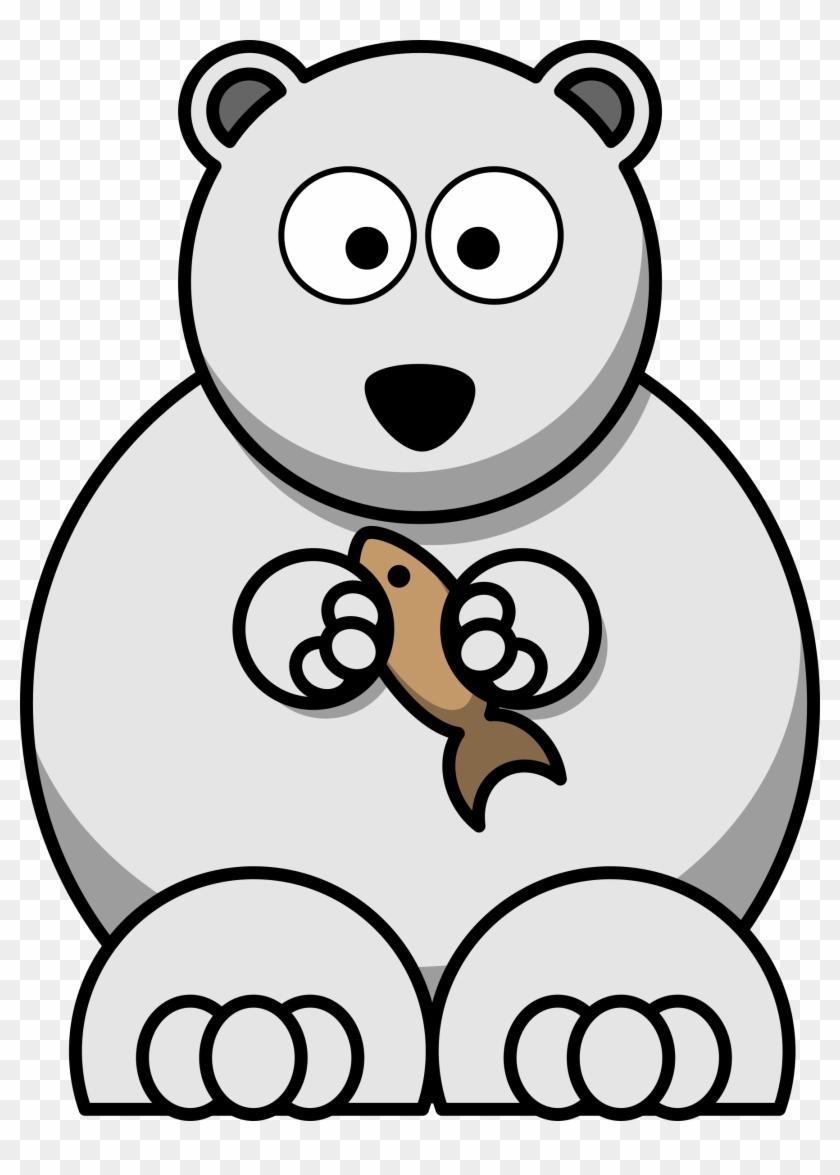 Cartoon Clipart Polar Bear - Cartoon Polar Bear Clipart #31243