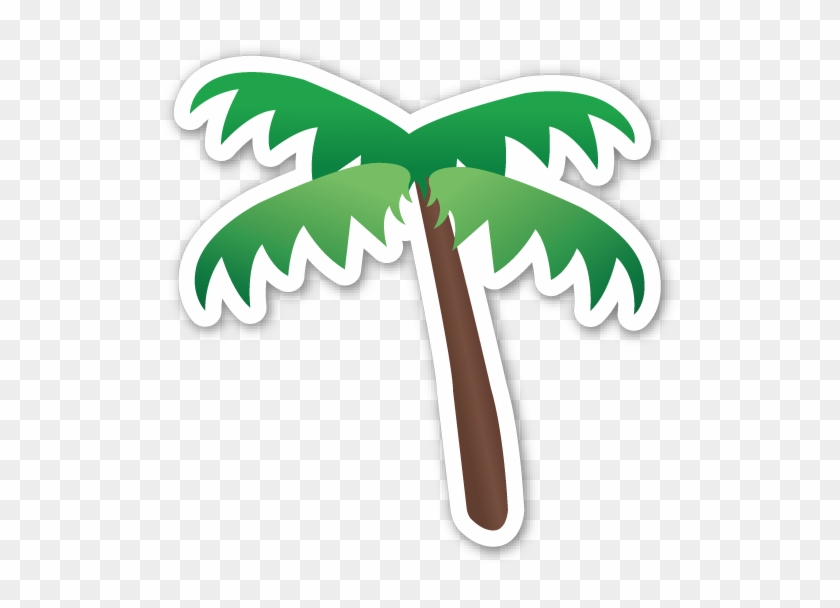 Palm Tree Emoji Sticker #31287