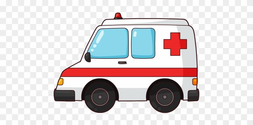Free Cartoon Ambulance Clip Art - Ambulance Clipart #31307