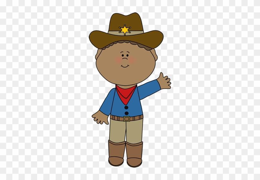 Cute Western Sheriff - Sheriff Clip Art #31317