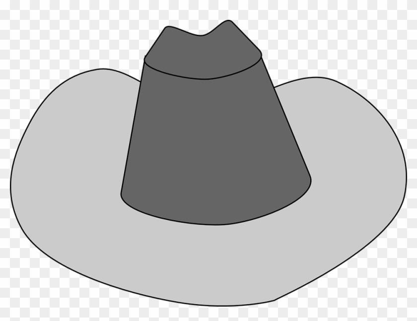 Free Cowboy Hat Clipart Black And White Images - Cowboy Hat Clip Art #31341