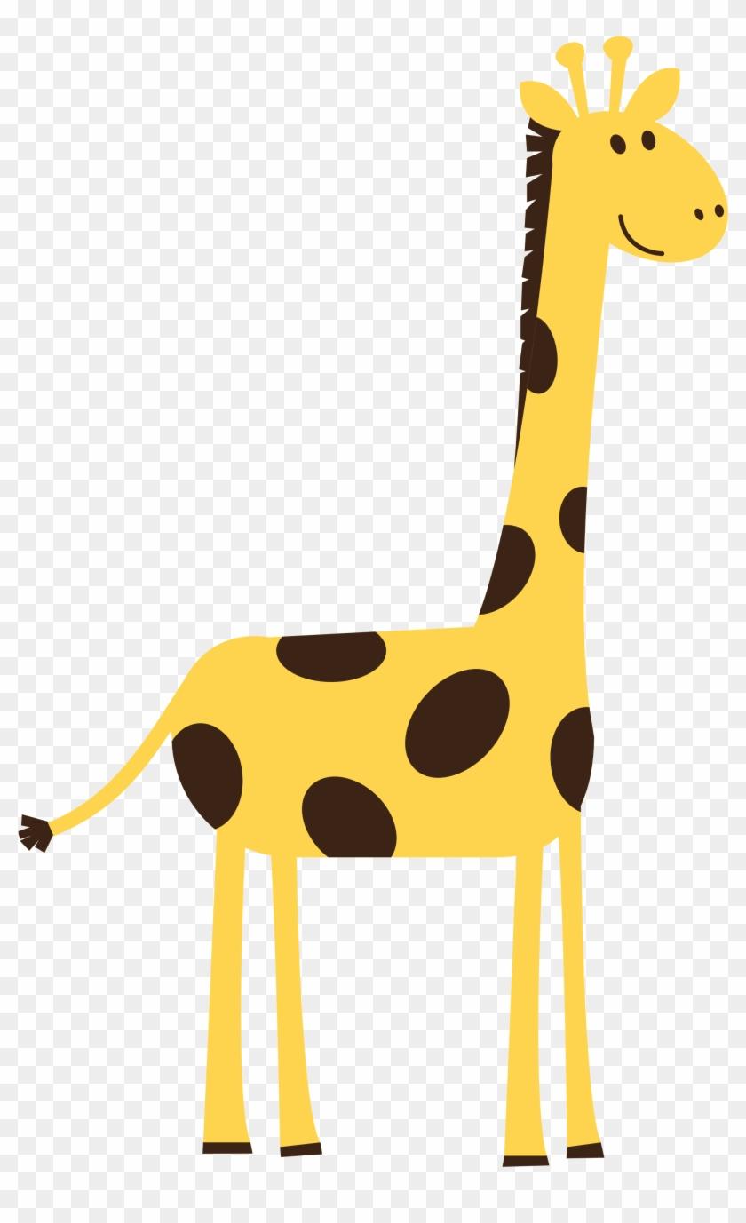 Cartoon Giraffe Top Giraffe Clipart Free Image Png - Giraffe Clipart #31344