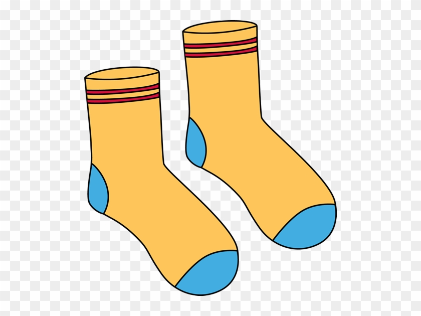 Free Online Clipart - Pair Of Socks Clipart #31370