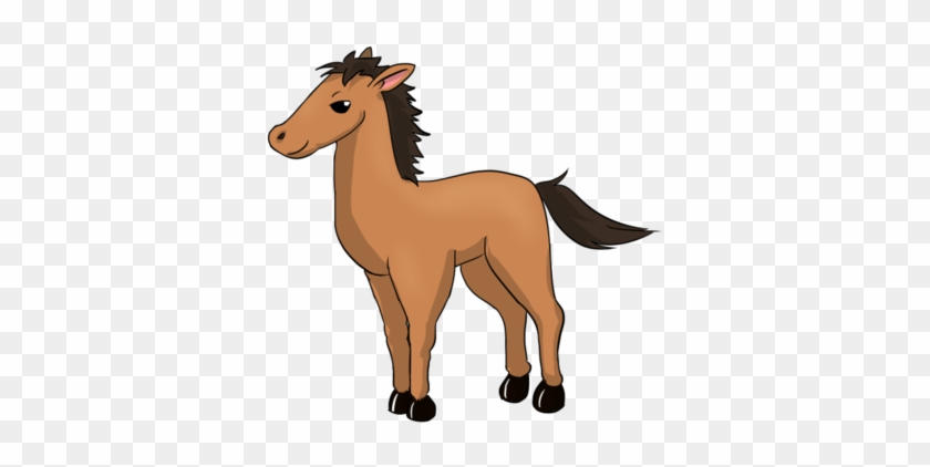 Free Cartoon Horse Clip Art - Clip Art #31375