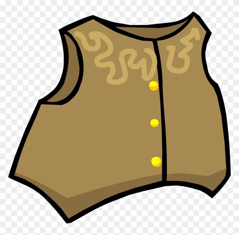 Club Penguin Clip Art - Cowboy Vest Png #31382
