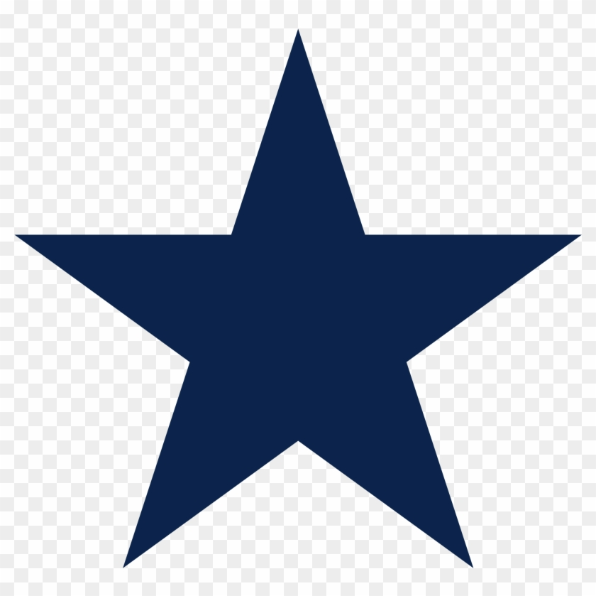 Ideal Dallas Cowboys Clipart Free Dallas Cowboys Logo - Red Star Transparent Background #31400