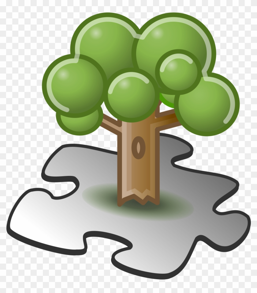 File - Tree Template - Svg - Scalable Vector Graphics #31405