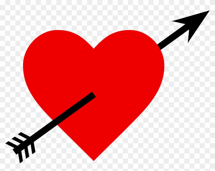 Clipart Heart With Arrow Free Download Clip Art On Love Heart With