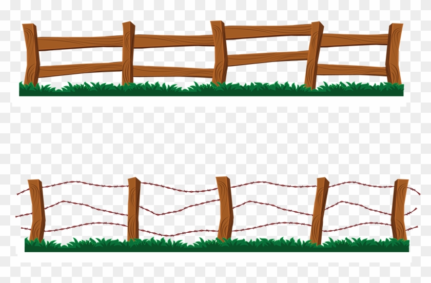 Ranch Clipart Western - Fence Clipart #31415