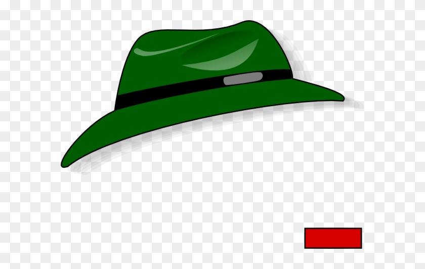 Free Vector Green Fedora Clip Art - Clipart Download #31418