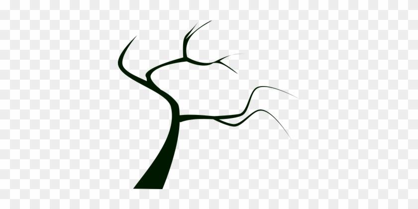 Tree, Plant, Dead Tree, Silhouette - Dead Tree Clip Art #31421