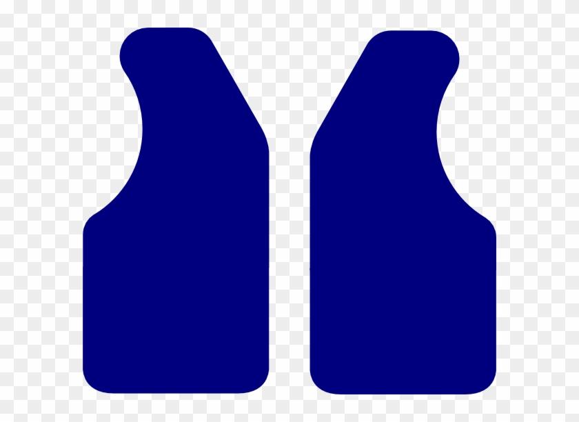 Blue Vest Clipart #31436