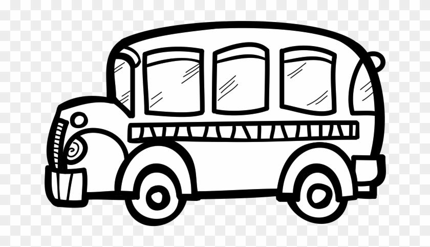 Bus Black And White School Bus Clip Art Black And White - Bus Black And White Clip Art #31522