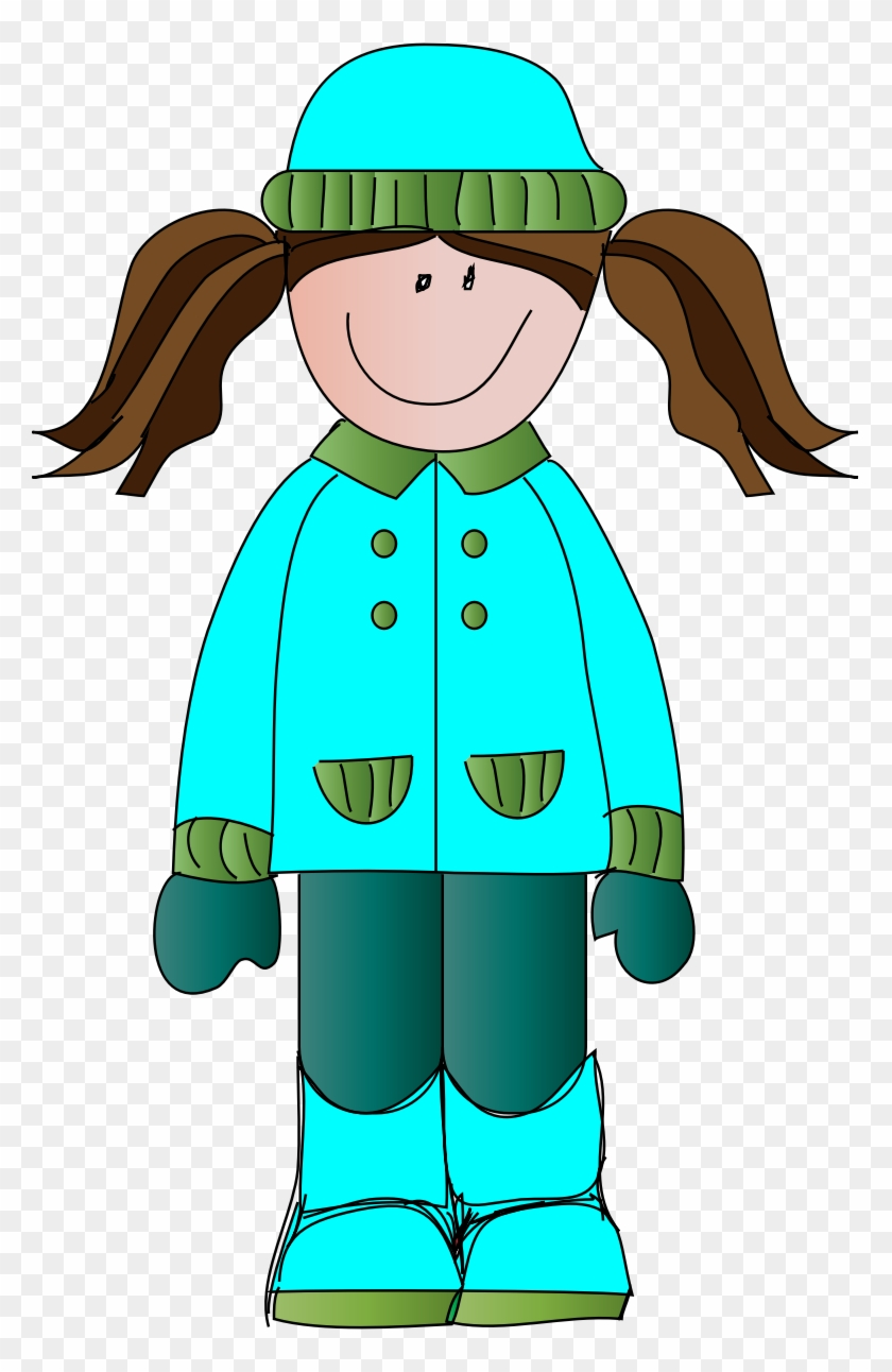 Free Animated Winter Clipart - Clipart Girl Winter #31530
