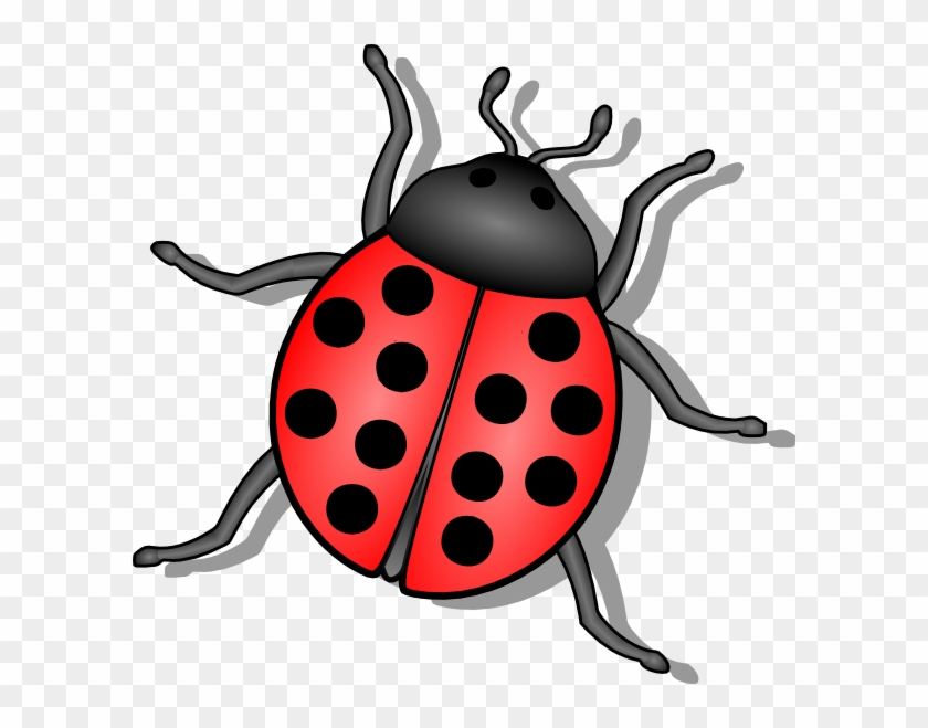 Ladybug Cartoon Clip Art - Ladybug Tattoo Design #31531