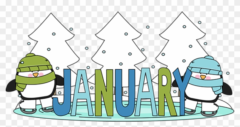 January Birthday Clipart - Month Of January Clipart #31561