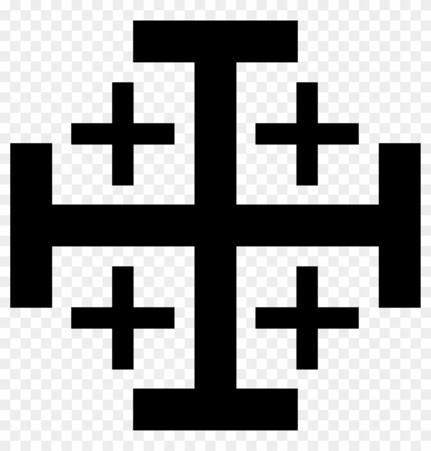 Jerusalem Cross Clip Art - Jerusalem Cross #31581
