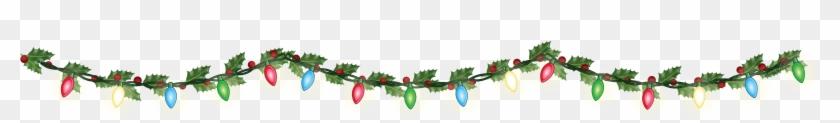 Christmas Lights Png Transparent Images Png All - Christmas Garland Border Transparent #31584
