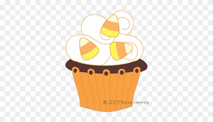 Graphics For Halloween Bake Sale Graphics - Halloween Cupcake Clipart Png #31622