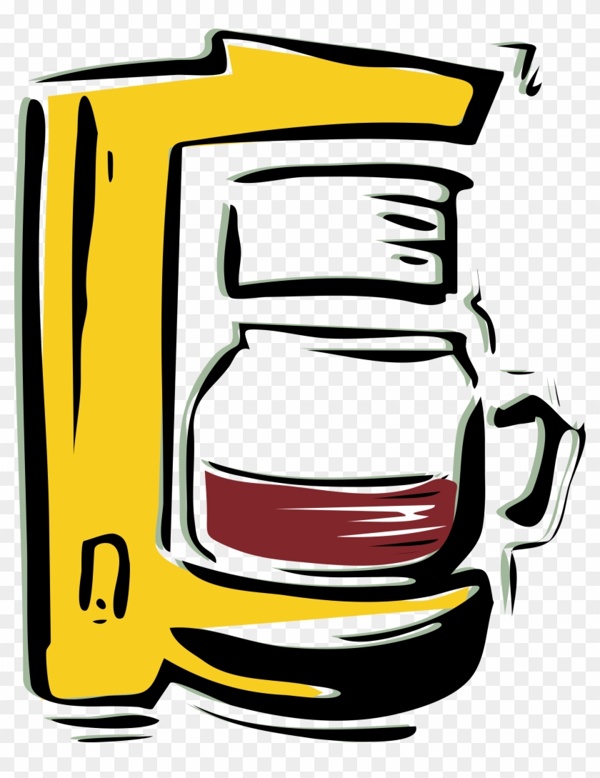 Openclipart - Org - Coffee Maker Clip Art #31639