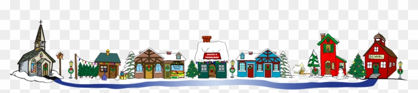 Christmas Village Clipart - Christmas Village Clip Art #31654