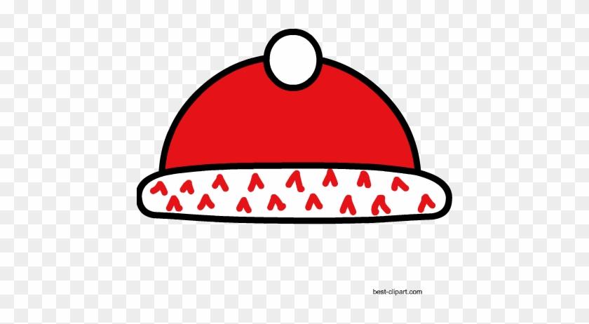 Red Cap, Free Winter Clip Art Image - Lambang Tut Wuri Handayani #31715