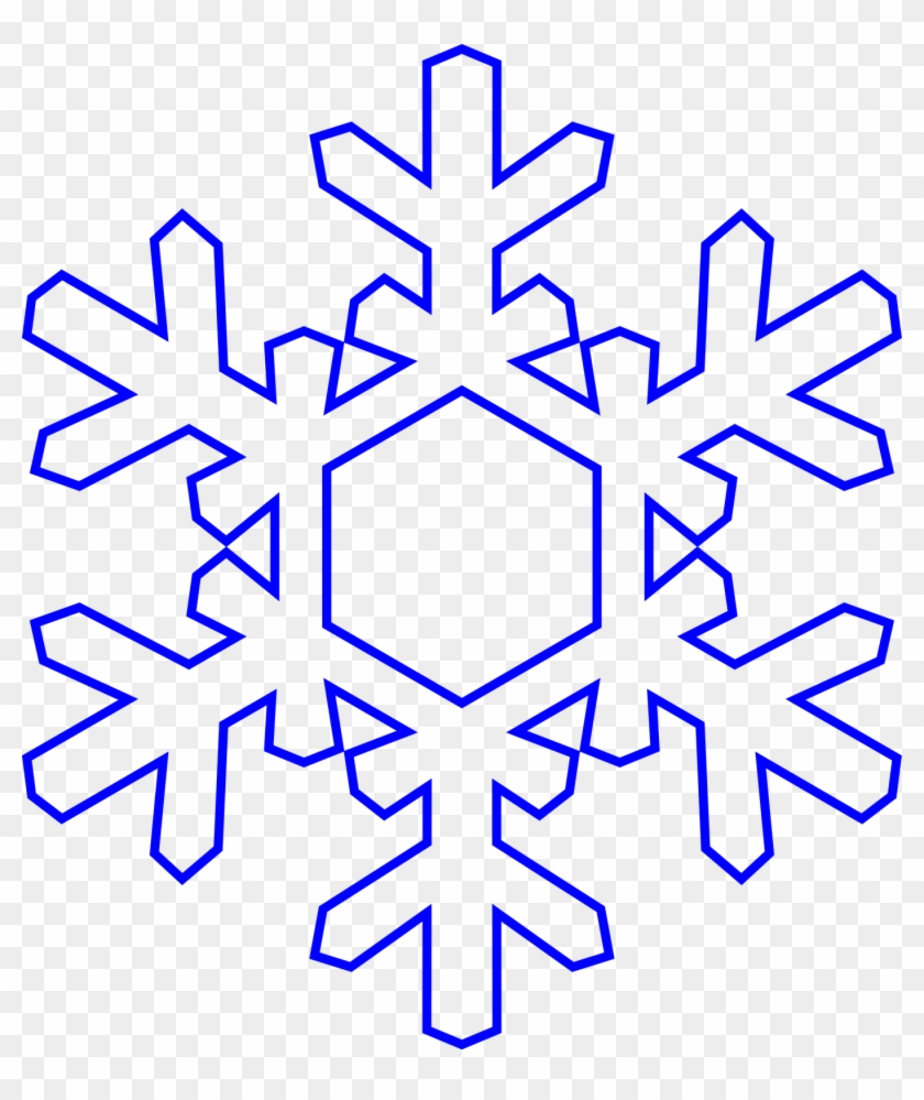 January Background Cliparts - Free Clip Art Snowflake #31750
