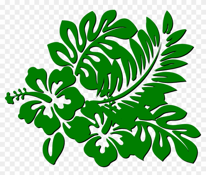 Flowers Green Branch Plant Leaves Vegetation - Rainforest Clipart Png #31763
