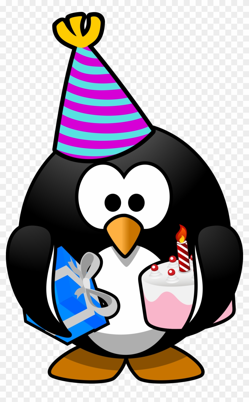 This Free Icons Png Design Of Party Penguin - Happy Birthday Penguin Meme #31760