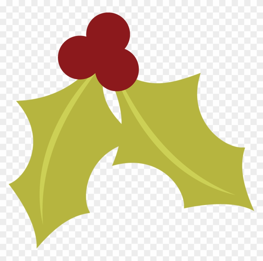 Have A Holly Jolly Christmas Svg Christmas Clipart - Free Holly Berry Png #31767