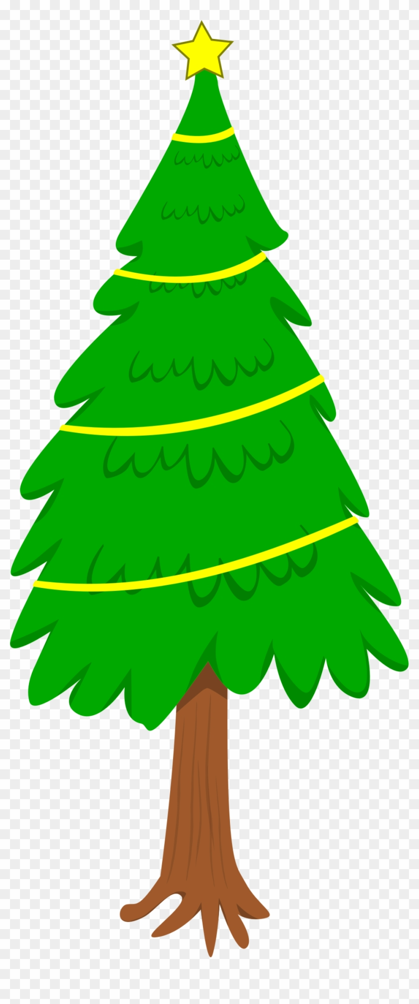 Christmas Tree - Tall Christmas Tree Clipart #31822