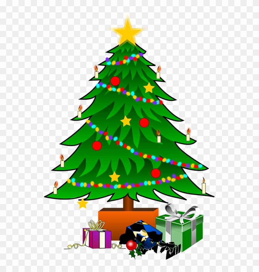 X Mas Tree Clipart #31871
