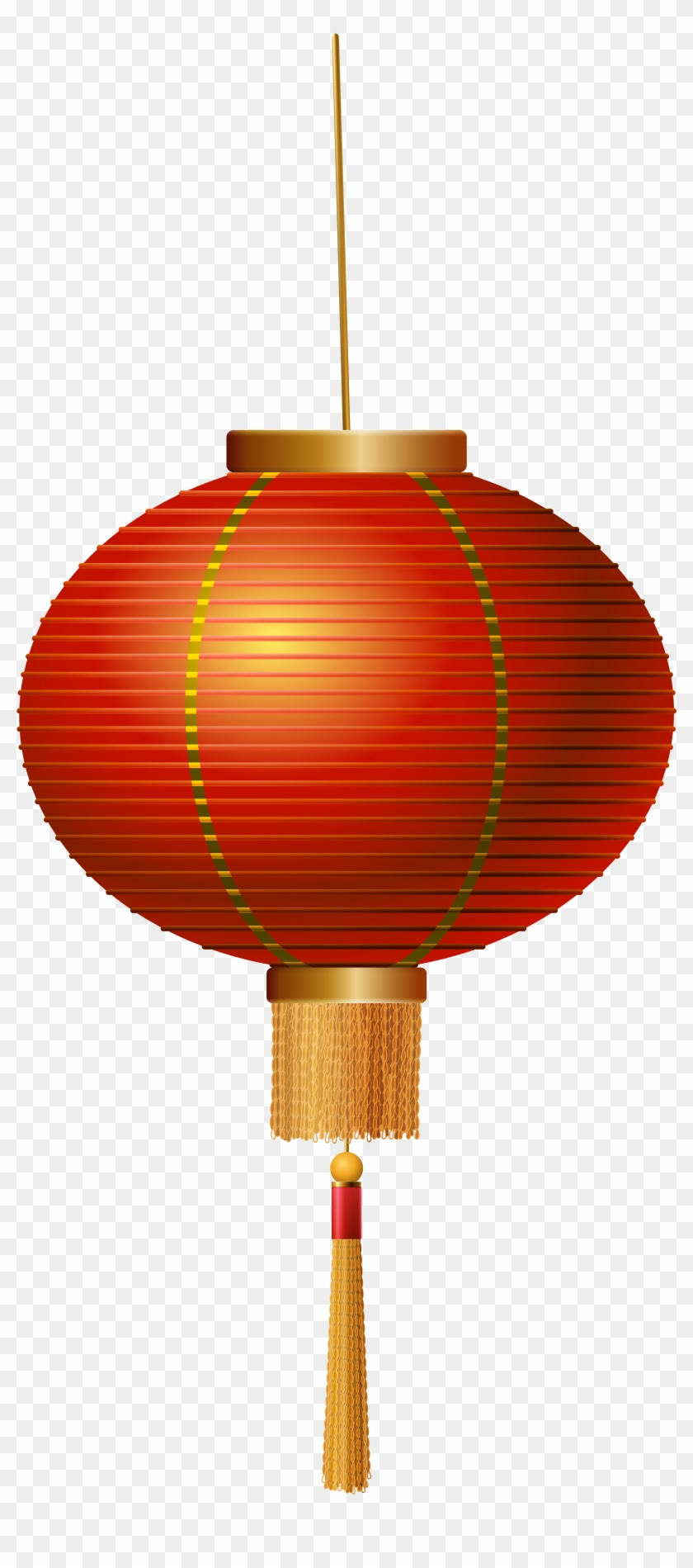 Red Chinese Lantern Png Clip Art - Chinese Lantern Png #31956