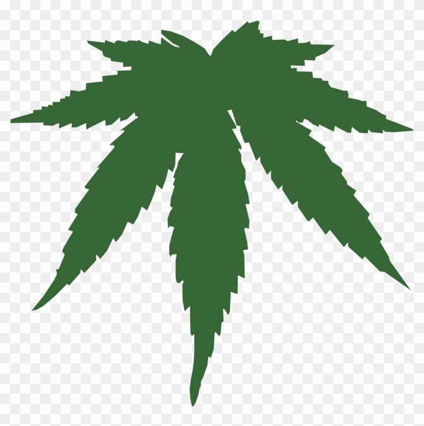 Cannabis Marijuana Leaf Clipart - Pot Leaf Coffee Mug #31968