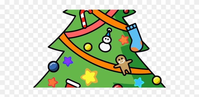 Clip Art Christmas Trees - Christmas Tree Ornament (round) #31998