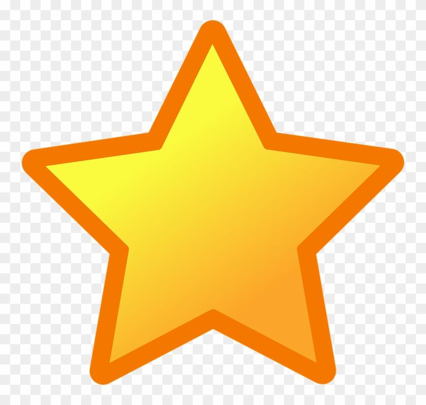 Black, Flat, Icon, Large, One, Blue, Small - Cartoon Stars #32016