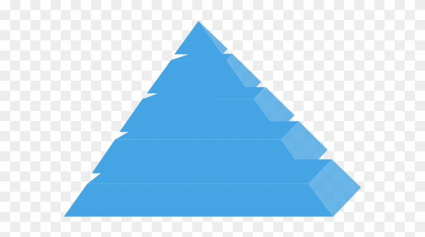 Pyramid Clip Art At Clker - Png Triangle Icon #32030