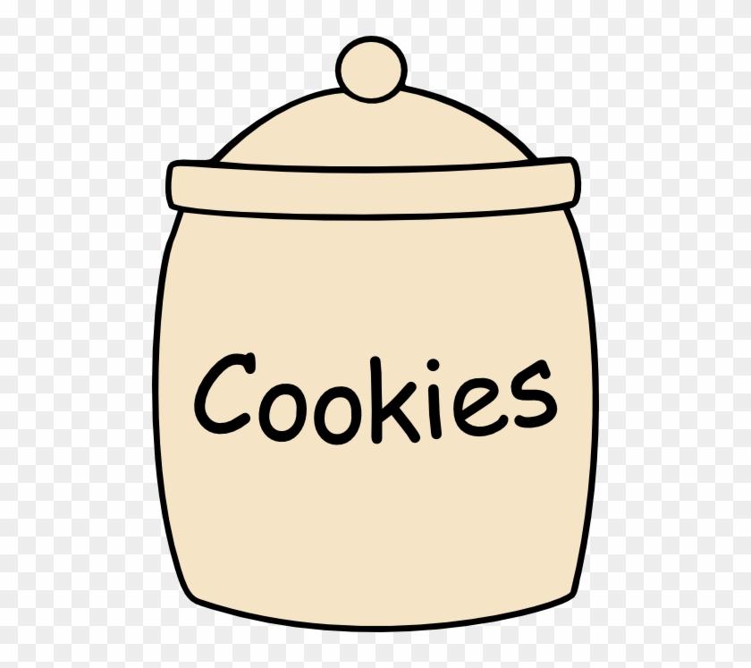 Cookie Jar Svg File Cookie Jars, Jar And Template - Jar Of Cookies Clipart #32068