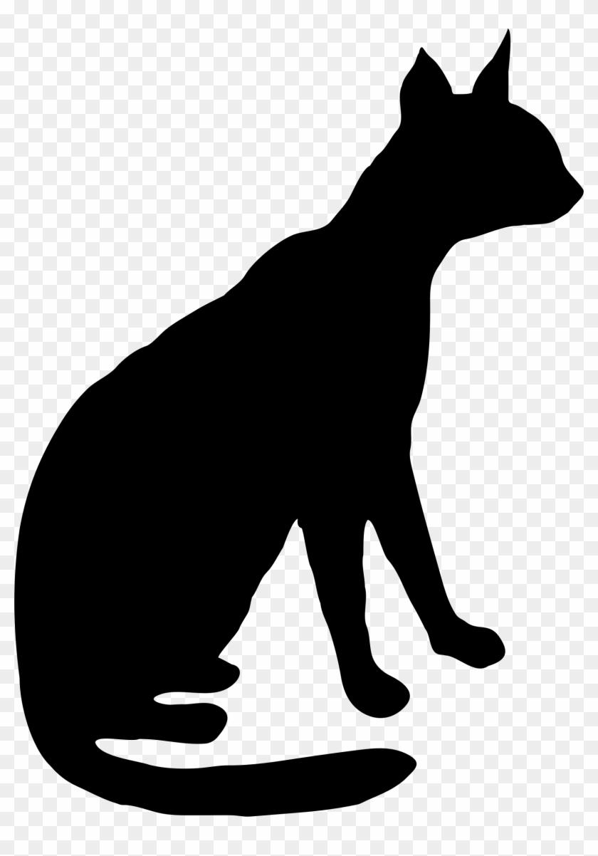 Big Image - Wild Cat Silhouette #32124