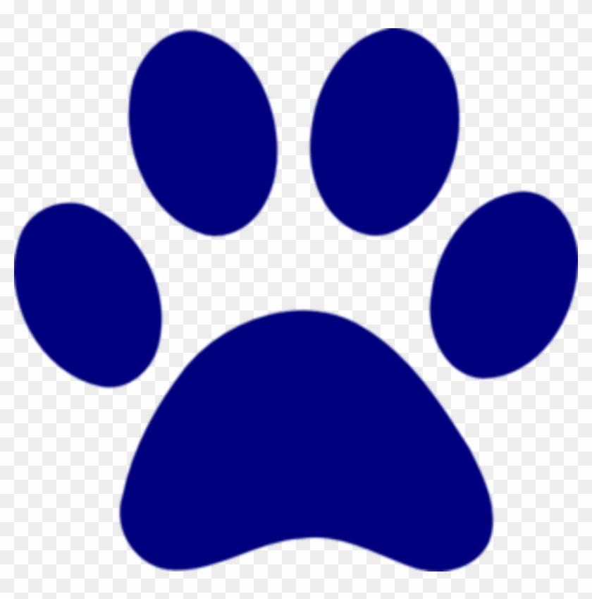 Blue Paw Print Logo - Paw Blue #32132