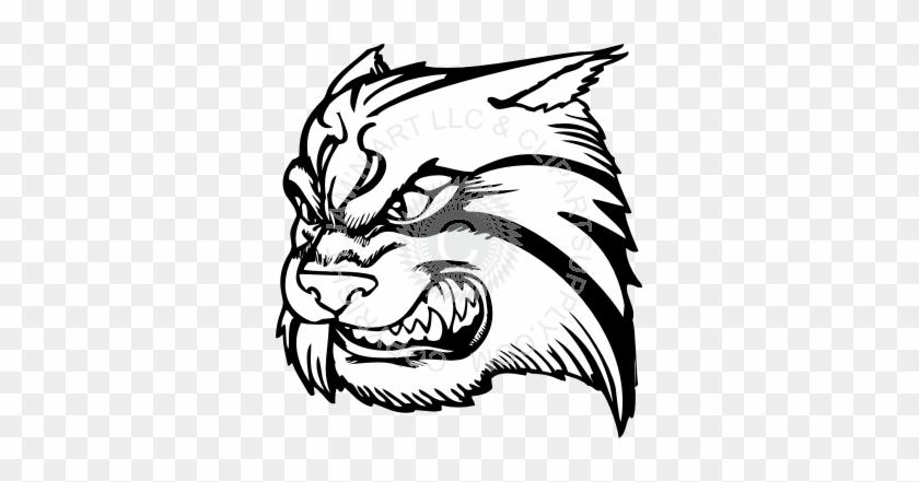 Wildcat Head Clipart #32134