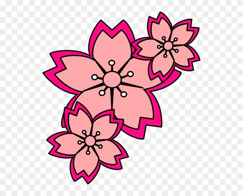 Blossoms Clip Art - Blossoms Clipart #32140