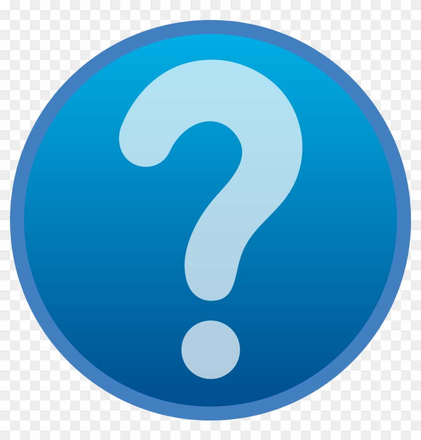 Microsoft Clipart Any Question - Question Mark Help Button #32167