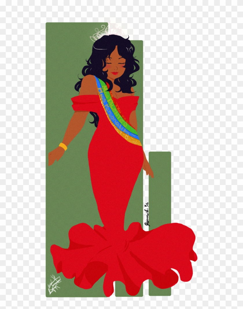 Beauty - Beauty Queen Clip Art #32179