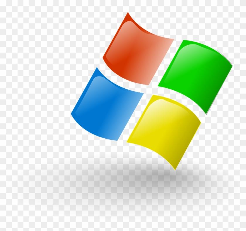 Ms Windows Clipart Computer System - Microsoft Corporation #32180