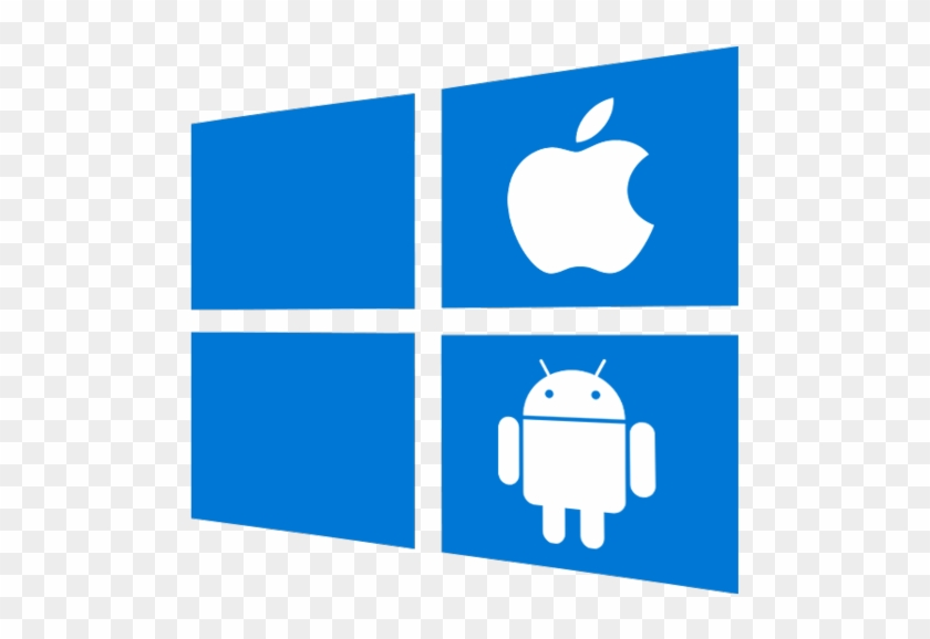 Ms Windows Clipart Windows App - Iphone Greater Than Android #32195