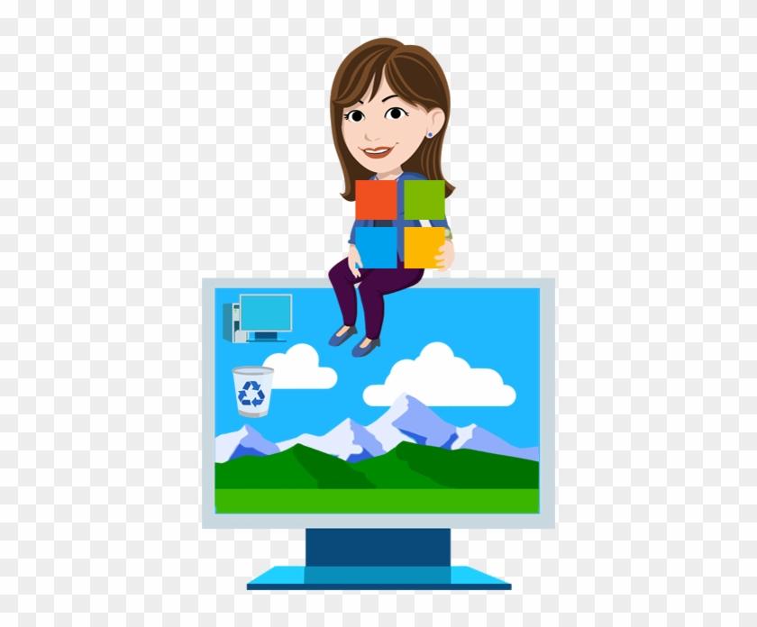 Ms Windows Clipart Standard - Microsoft Digital Literacy #32220